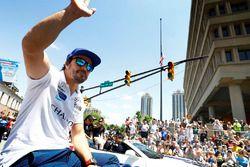 Fernando Alonso, Andretti Autosport, Honda