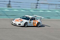 #127 MP2A Porsche GT3 Cup, Guillermo Fernandez, Frank Silah, MGM Motorsports