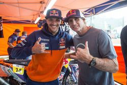 Robby Naish mit Sam Sunderland, Red Bull KTM Factory Racing