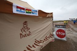 Dakar signage
