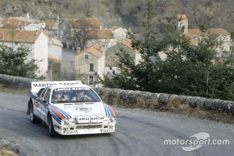 1983 - Troisième victoire de Röhrl : Lancia Rally 037