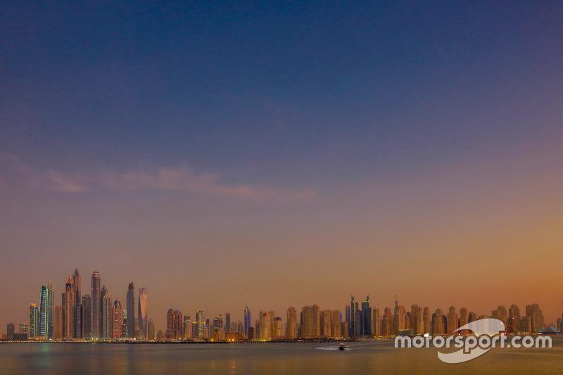 Die Kulisse in Dubai