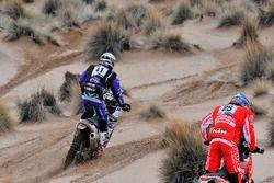 #41 Yamaha: Marc Sola Tarradellas, #25 Himoinsa Racing Team KTM: Ivan Cervantes