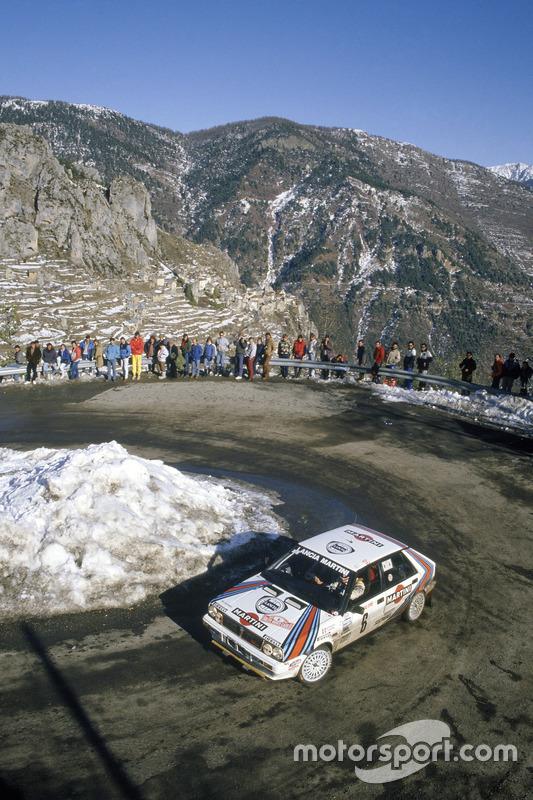 Miki Biasion, Tiziano Siviero, Lancia Delta HF 4WD