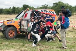 رقم 340 فريق كاي اتش7سبورت ميتسوبيشي: أيسيدر استيف بوغول، تكسيما فيلالويوس