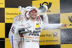 Podium: Race winner Maro Engel, Mercedes-AMG Team HWA, Mercedes-AMG C63 DTM