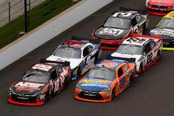 Erik Jones, Joe Gibbs Racing Toyota, Kyle Busch, Joe Gibbs Racing Toyota