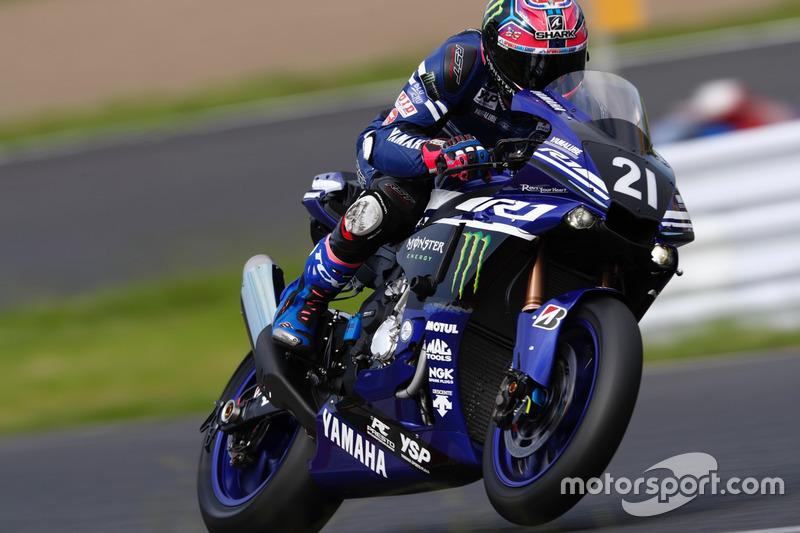 Кацуюки Накасуги, Yamaha Factory Racing Team