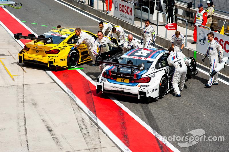 Тимо Глок и Том Бломквист, BMW M4 DTM