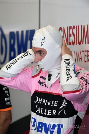 Alfonso Celis Jr.,, Sahara Force India piloto de pruebas