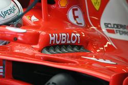 Ferrari SF70H, sfoghi ai lati dell'abitacolo