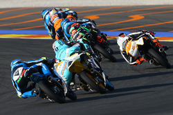 Livio Loi, RW Racing GP BV, Honda; Jakub Kornfeil, Drive M7 SIC Racing Team, Honda; Fabio Quartararo, Leopard Racing, KTM