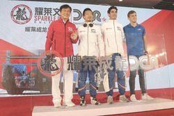 (LtoR):Jackie Chan,David Cheng,Paul-Loup Chatin