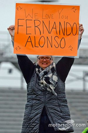 Ein Fan von Fernando Alonso, Andretti Autosport, Honda