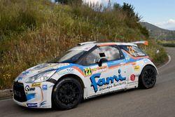 Paolo Oriella, Sandra Tommasini, Citroen DS3 R5, Rally Team
