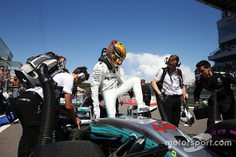 Lewis Hamilton, Mercedes: 4º