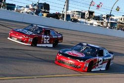 Ben Kennedy, GMS Racing Chevrolet and Brendan Gaughan, Richard Childress Racing Chevrolet