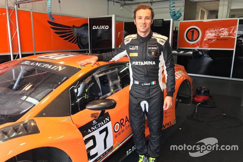 Luca Filippi, Orange1 Team Lazarus