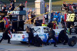 Ryan Truex, Hattori Racing Enterprises Toyota pit stop