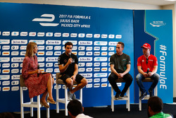 Nicki Shields, Jérôme d'Ambrosio, Dragon Racing, Adam Carroll, Jaguar Racing, and Felix Rosenqvist,