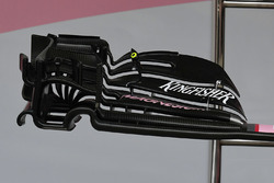 Force India VJM10 front wing detail