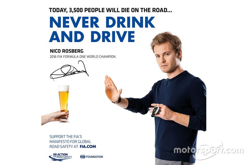 Nico Rosberg, vigente campeón de F1