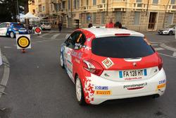 Gara 2 del Rally di Sanremo con Mazzocchi leader in 208 Top