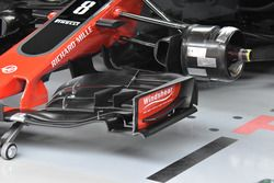 Detail Frontflügel, Haas F1 Team VF-17