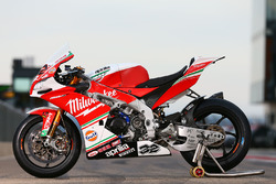 La moto de Julian Simon, Milwaukee Aprilia World Superbike Team