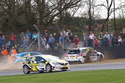 Aiden Moffat, Laser Tools Racing Mercedes Benz A-Class y Ashley Sutton, Team BMR Subaru Levorg
