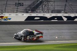 Ben Rhodes, ThorSport Racing Toyota after the crash at last lap