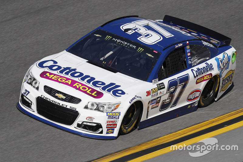 #37: Chris Buescher, JTG Daugherty Racing, Chevrolet