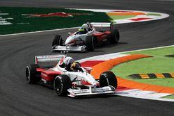 Zsolt Baumgartner, F1 Experiences 2-Seater driver and Patrick Friesacher, F1 Experiences 2-Seater driver