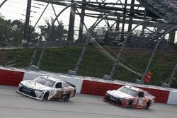 Erik Jones, Joe Gibbs Racing Toyota, Denny Hamlin, Joe Gibbs Racing Toyota