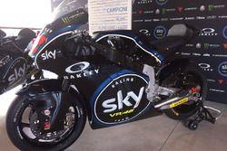 The Moto2 bike of Francesco Bagnaia