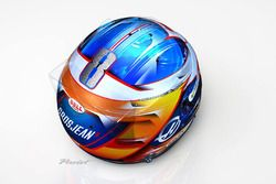 Helm van Romain Grosjean, Haas F1 Team