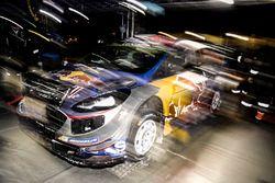 Car of Sébastien Ogier, Julien Ingrassia, Ford Fiesta WRC, M-Sport
