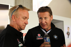 Russell Ingall and Mark Skaife, BMW Team SRM.