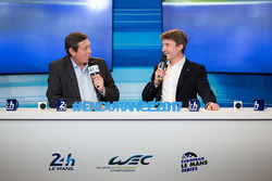 Gerard Neveu, WEC CEO with Bruno Vandestick