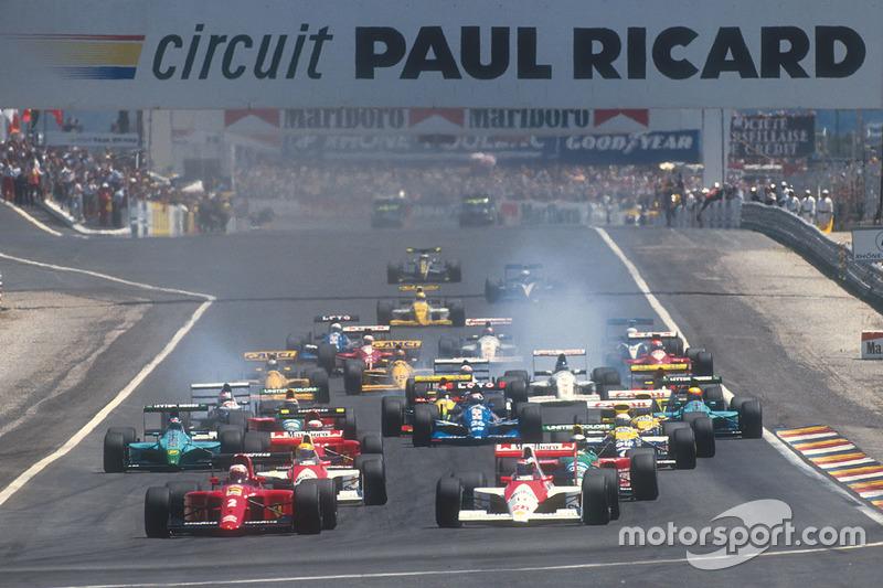 Dos configuraciones el circuito Paul Ricard albergaron el Gran Premio de Francia en el pasado. Para la nueva etapa de 2018, tendrá una tercera configuración.
