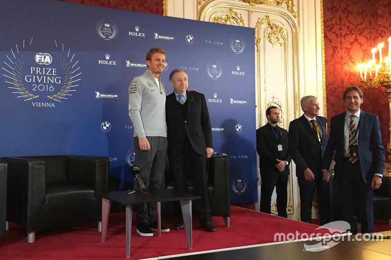 Nico Rosberg, Mercedes AMG F1, Jean Todt, FIA-Präsident