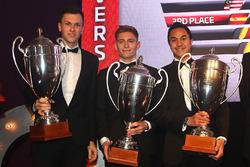 2016 Endurance Cup Overall Drivers, Dominik Baumann, Maximilian Buhk, Jazeman Jafaar, 2nd place