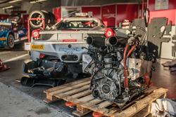Un moteur Ferrari