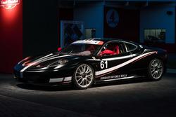 Une voiture du Ferrari Challenge