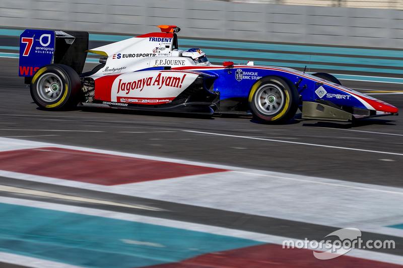 Giuliano Alesi Trident At Abu Dhabi November Testing