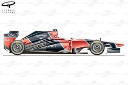 Marussia MR01 side view