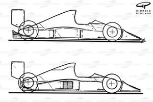 Evolution aérodynamique de la McLaren MP4-5B