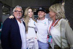 Nico Rosberg, Vivian Rosberg, Keke Rosberg, Sina Rosberg