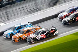 Austin Dillon, Richard Childress Racing Chevrolet, Carl Edwards, Joe Gibbs Racing Toyota; Danica Pat