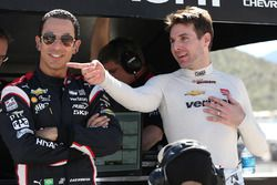 Helio Castroneves, Will Power, Team Penske Chevrolet